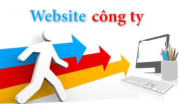 Thiết kế website công ty doanh nghiệp